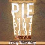 Pie and a Pint Thursdays