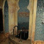 sauna douche et bain d'eau glacée