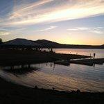 Sunset@ the Marina Resort.