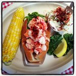 Delicious lobster roll