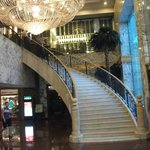 Stairs from lobby