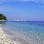 Papa Nero beach close to Lions Nine