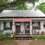 Front View of Bayou Boudin and Cracklin Cafe (Breakfast Served Here)
