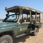 Great jeep for game drive
