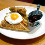Southern Fried Chicken & Rosemary French Toast
