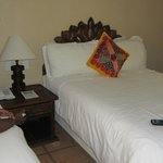 One of the bed in our double bed room.