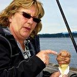 Best ice cream cones - chocolate peanut butter chunk!