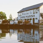 Chirk Marina--our home base