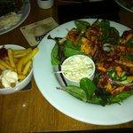 Cajun chicken salad-yum yum!