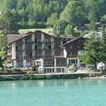 Seehotel from Lake Brienz