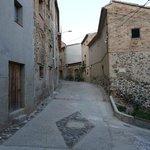Narrow streets in Gratallops