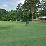 #9 green and clubhouse