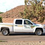Navajo Police at the Thunderbird