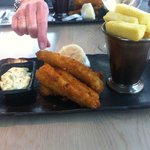 Goujons of Dayboat Fish & Triple Cooked Chips