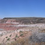 One view of the painted desert