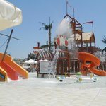 Younger kids area of Waterpark