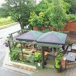 nice beer garden