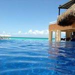 Pool to ocean view.