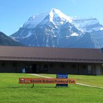 Beautiful Day at the Mount Robson Visitor Centre