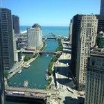 Chicago River & Lake Michigan