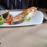 food at restaurant