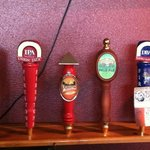 8 Beers on tap come on in!!!