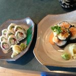 Campbell River Roll and Volcano Roll