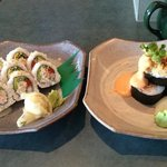 Campbell River roll & Volcano roll
