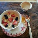 Oatmeal for breakfast - so good!