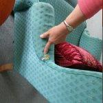 worn furnishings