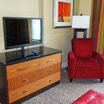Bedroom - Dresser & TV