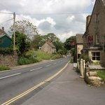 Road outside the pub