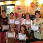 The staff at Tricia's Treasures and Bistro in Crandon, Wi