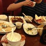 after meal @ Hei restaurant Edinburgh