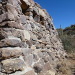 Rock Structure in Saguaro National Park.