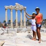 Развалины храма Апполона