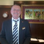 the ever so gracious hotel manager