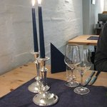 Sinple, welcoming table setting