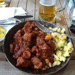 Goulash and beer