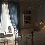 The room with the nice bath
