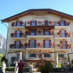Front view of the Hotel Paganella