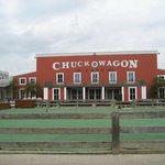 Chuck Wagon Cafe. Hotel Cheyenne.