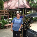 Lady Oan (Tuk Tuk) driver at BaanKaew