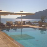 The pool with the spectacular view