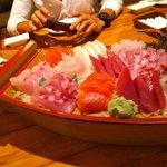 лодка сашими
