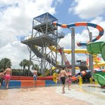 Great set of water slides