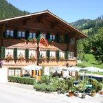 Restaurant Galerie Hüsy im Sommer