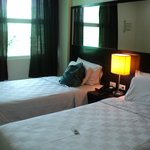 Room with twin beds