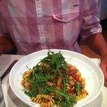 Fusilli & Shrimp  fresh and tasty!
