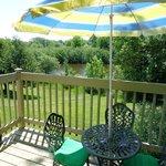 balcon vue sur le lac studio ch #7